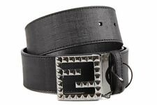 FENDI WOMEN'S ADJUSTABLE LENGTH REVERSIBLE LEATHER BELT ZUCCA BROWN  9EB