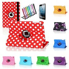 For Apple iPad 2 3 4 Mini 1 2 3 360 Degree Rotating PU Leather Case Smart Cover