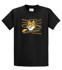 Funny Youth T-Shirt What Does The Fox Say?