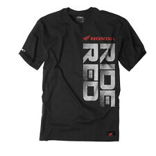 Factory Effex Honda Ride Red Black T-Shirt Tee Adult Licensed CR CRF CBR XR NEW