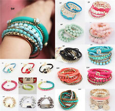 Wholesale Fashion Jewellery Solid  Bracelet Bangle Rhinestone Women Gift New Hot