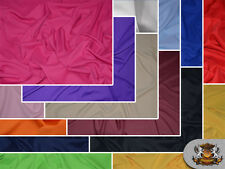 """Poly Poplin Solid Fabrics / 120"""" Wide / Sold by the yard"""