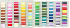 Embroidery Silks Cotton Floss Thread 10 Pack - Assorted Shades