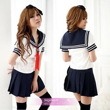 Sexy Japan adult School Girl uniform cosplay halloween costume women fancy dress