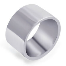 Classic  Stainless Steel Mens Unisex Wide Band Ring,size 8-12,P0880-P0884