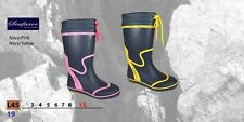 SEAFARER LADIES WELLY SAILING BOOT 4 5 6 7 8  LADY BOATING WELLINGTON BOOTS