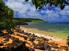 Hawaii Scenery poster  home room home decor poster PERSONALIZED FREE
