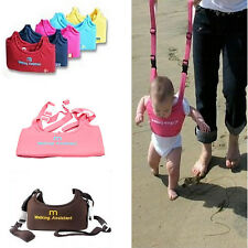 Adjustable Toddler Kid Harness Aid Assistant Strap For Baby Safe Learning Walk