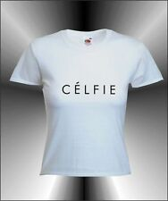 CELFIE -  WOMENS FUN HIPSTER SELFIE SNAPCHAT T-SHIRT ALL SIZES AND COLOURS