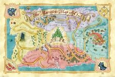 New The Marvellous Map of Oz The Wizard of Oz Poster