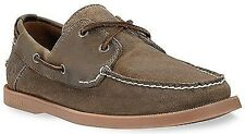 Timberland Heritage 2-Eye Herren Bootsschuhe Boat Shoes 6504R olive brown