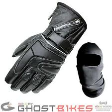 BUFFALO ARCTIC WATERPROOF WP THERMAL LEATHER MOTORCYCLE SCOOTER WINTER GLOVES