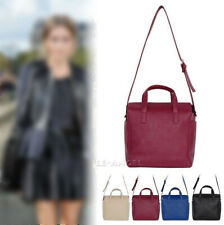 New Women Handbag Ladies Shoulder Tote Faux Leather Cross Body Bag Purse Satchel