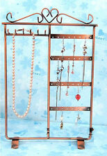 Earrings Display Necklace Storage Retro Bracelet Hanging Display Holder Handmade