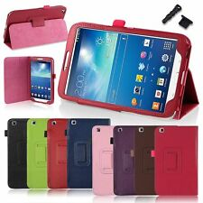 Colors Folio Leather Stand Cover Case For Samsung Galaxy Tab 3 8 Inch 8.0 T310