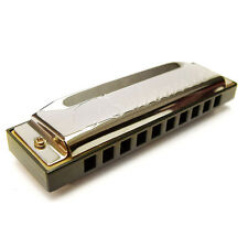 10 hole Diatonic Harmonica in 7 keys Blues Harp Mouth Organ Guitar Gifts