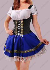 Sexy Beer Maid Wench Heidi Oktoberfest Fancy Dress Halloween Costume Plus Size