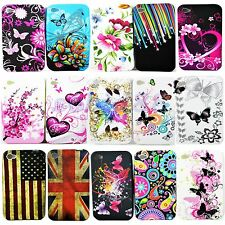 Soft Silicone Rubber Tpu Cell Phone Back Cover Case For Apple IPhone 4 4G 4S 4GS