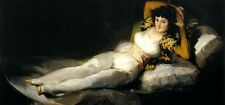 THE CLOTHED MAJA BEAULTIFUL GYPSY WOMAN PAINTING BY FRANCISCO GOYA REPRO