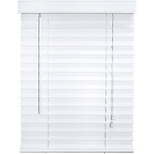 """Canopy 2"""" Faux Wood Blinds, White  23"""" x 64"""" ** NEW **"""