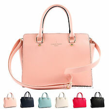 New Women Handbag Ladies Tote Cross Body Shoulder Bag Faux Leather Purse Satchel