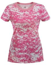 t-shirt camo soft pink digital womens camouflage longer length rothco 5683