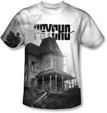 AUTHENTIC PSYCHO BATES HOUSE MOTEL SUBLIMATION MENS POLYESTER MOVIE SHIRT S-3XL