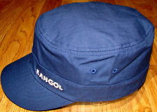 Kangol  Headwear  Ripstop  Flexfit  Military  Army  Cap  Color  Navy Blue