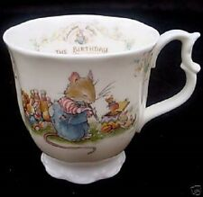 CHOICE FROM  10 BRAMBLY HEDGE ROYAL DOULTON THE BIRTHDAY COLLECTION JILL BARKLEM