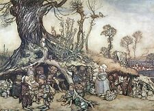 Arthur Rackham BOOK OF PICTURES 1913 Ref 06 PRINT A4 or A5 Size Unframed