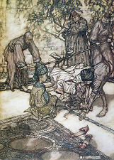 Arthur Rackham BOOK OF PICTURES 1913 Ref 39 PRINT A4 or A5 Size Unframed