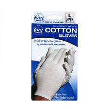 Cara 100% Dermatological Cotton Gloves  1 pair