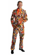 "Wild Pattern Suit - ""Patchwork - Chubby Brown "" deluxe suit"