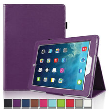 Folio Stand Smart Magnetic Leather Case Cover For New Apple iPad 5 iPad Air 2013
