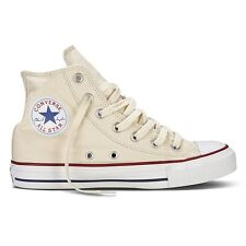 Converse Chuck Taylor All Star Baskets Hauts Blanc Naturel Beige Crème Neuf