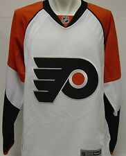 NEW Mens REEBOK Philadelphia FLYERS White CCM NHL Hockey Jersey 7185 A