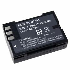 2PCS Li-on Battery BLM-1 PS-BLM1 For Olympus C-8080 E-3 E-30 E-520 E-300