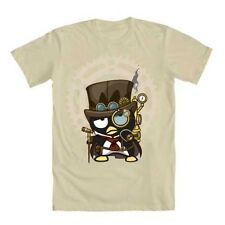 NWT Sanrio Hello Kitty Steampunk Badtz-Maru Mens Gray Tee Shirt Medium Large XXL