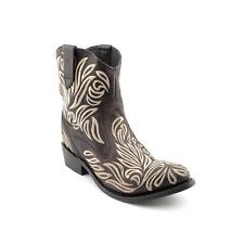 Dolce Vita Cisco Womens Leather Western Boots