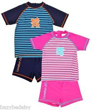 Olympic boys and girls  BNWT SPF 50  beach UV sunsuit /swimsuit top shorts