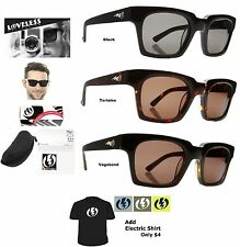 NEW Electric Loveless Collection Bunsen Mens Sunglasses Msrp$130