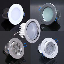 Cool/Warm White/Silver 7W LED Down light Ceiling Recessed lamp bulb Dimmable/Non