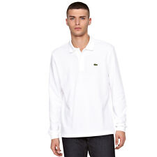 Lacoste Long Sleeve Polo Shirt in White