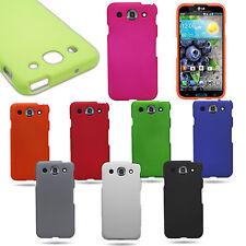 Snap-On Hard Plastic Rubber Matte Phone Cover Case For LG Optimus G Pro