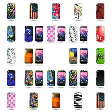 For BLU Life Play Hard Case - Slim Fit Custom Design Colorful Protective Cover
