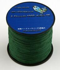 Dark Green 4 plys 100M/300M/500M/1000M 6-100lb Spectra  Fishing Braid Line