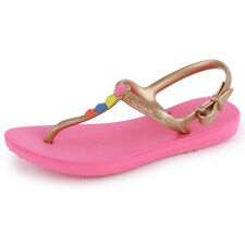 Havaianas Freedom Girls Flip Flops New Sandals All Sizes Shoes Pink
