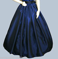 Ladies Victorian  or American Civil War SKIRT costume fancy dress size 6-20