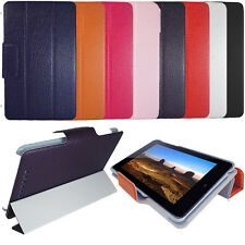Wallet Flip Leather Case Cover Stand Sleep Wake For Google Nexus 7 (2012) Tablet
