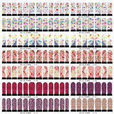 NAIL WRAPS STICKERS - Full Self Adhesive Polish Foils Decoration Art Decals m8